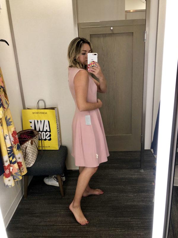 Nordstrom Anniversary Sale Dress Round-Up: Eliza J Fit & Flare Pink