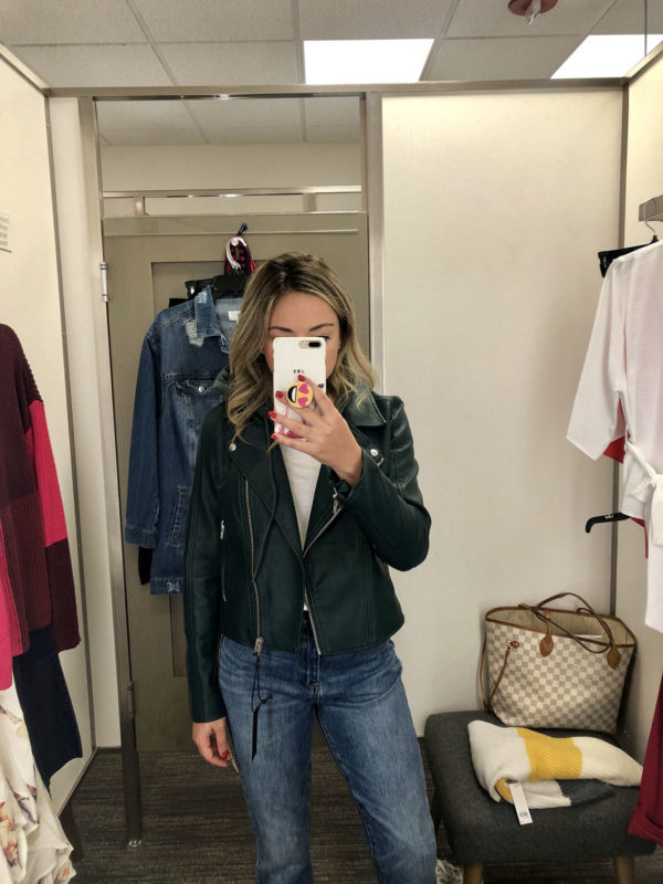 Nordstrom Anniversary Sale leather jacket