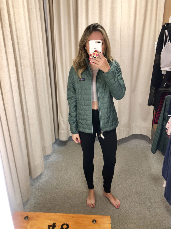 Nordstrom Anniversary Sale Green Pesto Patagonia Jacket