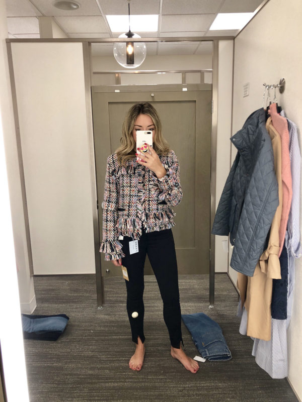 Nordstrom Anniversary Sale Tweed Blazer