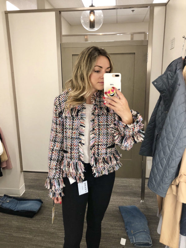 Halogen Tweed Blazer Nordstrom Anniversary Sale