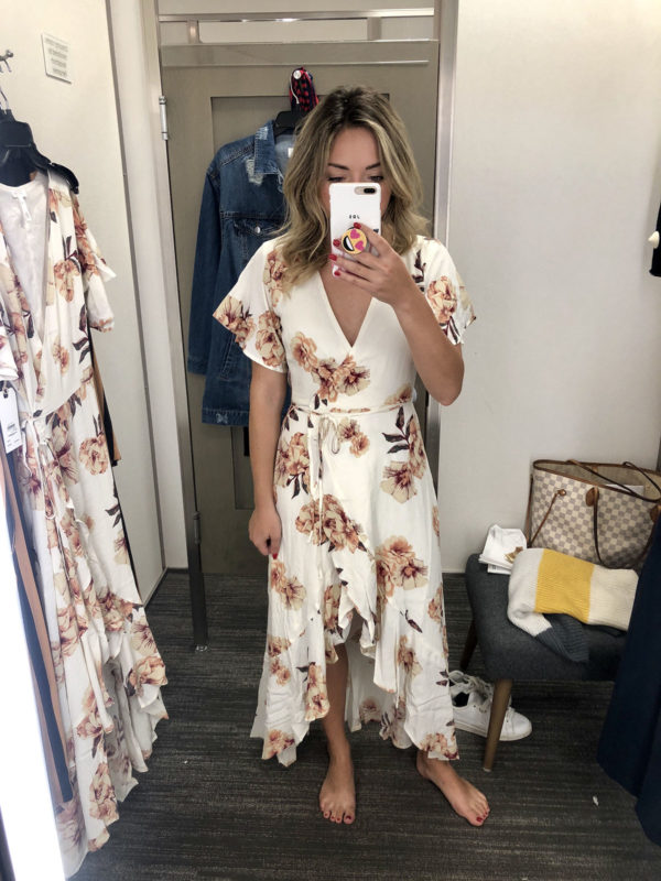 Nordstrom Anniversary Sale Leith Wrap Dress