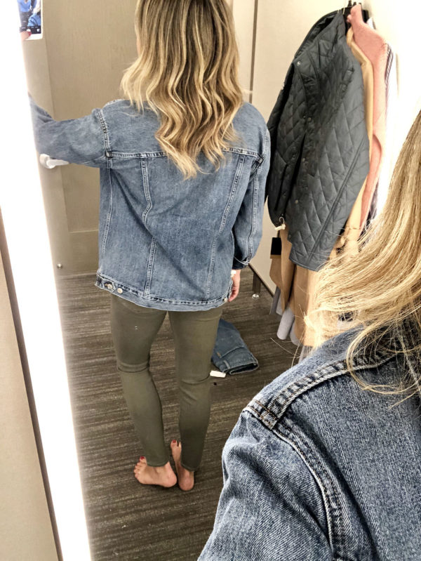Nordstrom Anniversary Sale Favorite Finds Madewell Jacket Olive Green Skinny Jeans