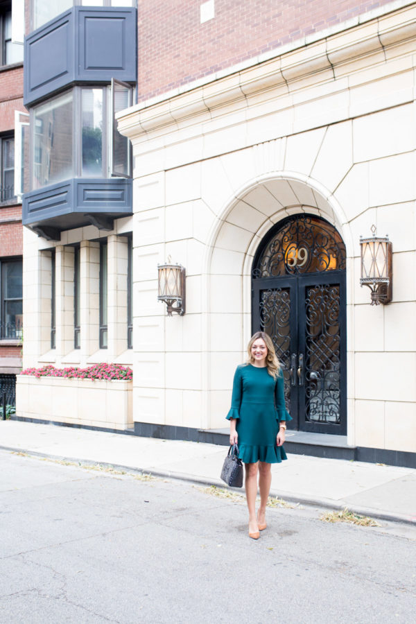 Chicago lifestyle blogger Bows & Sequins wearing a cute outfit for work.