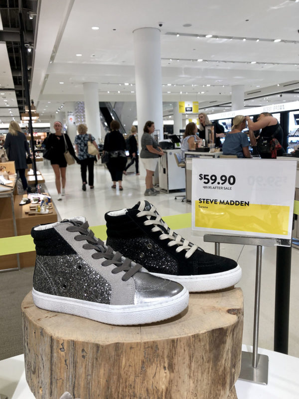 Nordstrom Anniversary Sale: Steve Madden Glitter High Top Sneakers