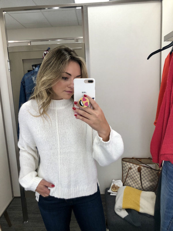 Nordstrom Anniversary Sale white sweater BP