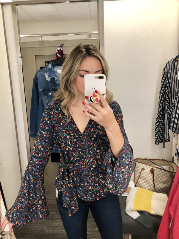 Nordstrom Anniversary Sale Floral Blouse