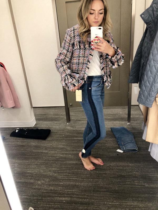 Nordstrom Anniversary Sale Denim Guide 2018 Rag & Bone Stripe Jeans