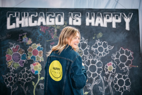 Chicago blogger Jessica Sturdy at Happy Place.