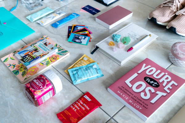 Chicago-based travel blogger, Jessica Sturdy of Bows & Sequins, shares what's on her must-pack list for Remote Year: Olly gummy vitamins, RXBars, and a whole lot more.