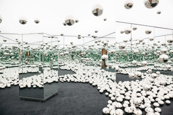 The new wndr museum in Chicago is now open with an Infinity Mirrors exhibit by Japanese artist Yayoi Kusama.