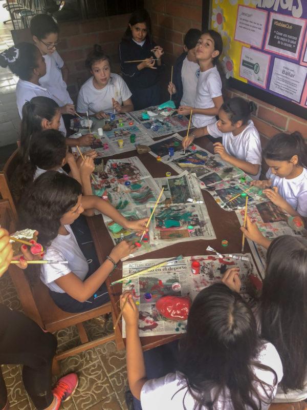 Remote Year Kahlo Positive Impact in Medellin Colombia at Las Golondrinas