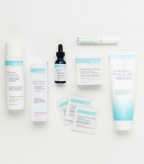 Bows & Sequins shares her favorite products (and her reviews for each) for Bluemercury's M-61 line: Power Cleanse, Vitablast C, PowerGlow Peel Pads, PowerSpot Clear Treatment, and Hydraboost Body Butter.