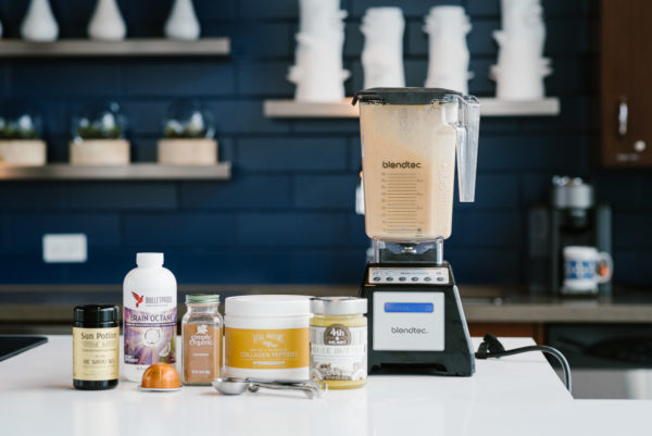 Chicago based health and wellness lifestyle blogger Bows & Sequins shares her recipe for Bulletproof Coffee with Vital Proteins Collagen Peptides.