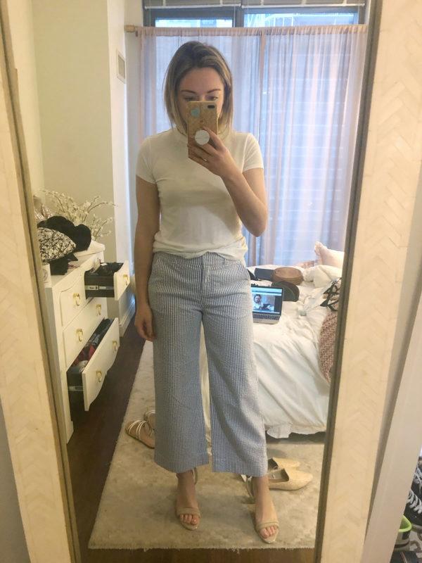 seersucker pants outfit
