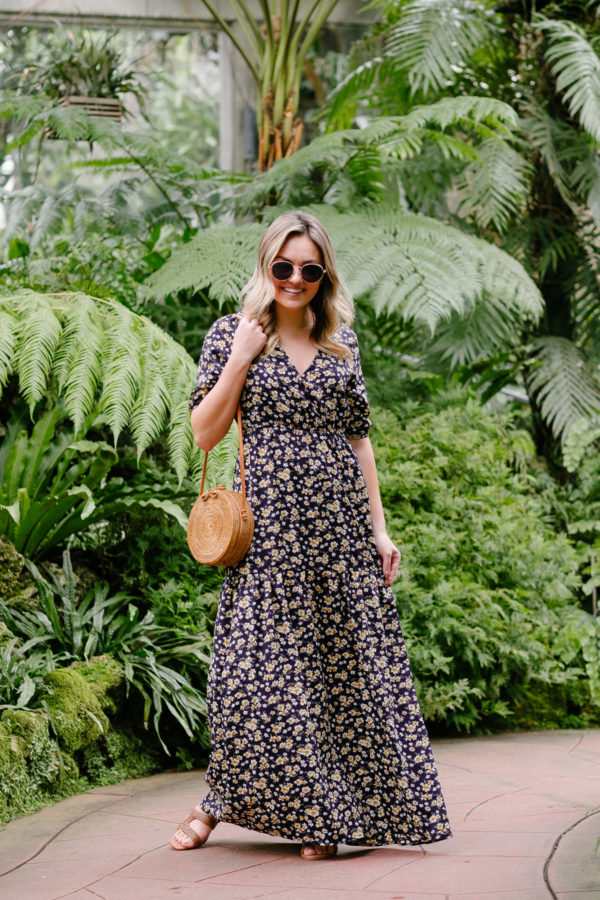 Chicago fashion blogger Jessica Sturdy styles a relaxed summer outfit in 2019.