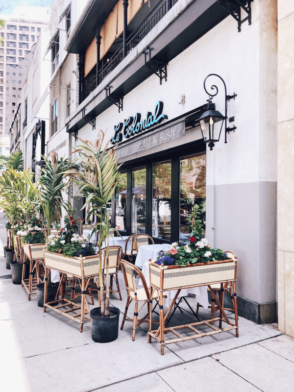 Chicago food and lifestyle blogger Bows & Sequins at Le Colonial in Chicago's Gold Coast