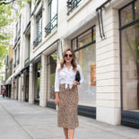 One Leopard Skirt, One Million Outfits