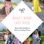 What I Wore Last Week: Napa Edition