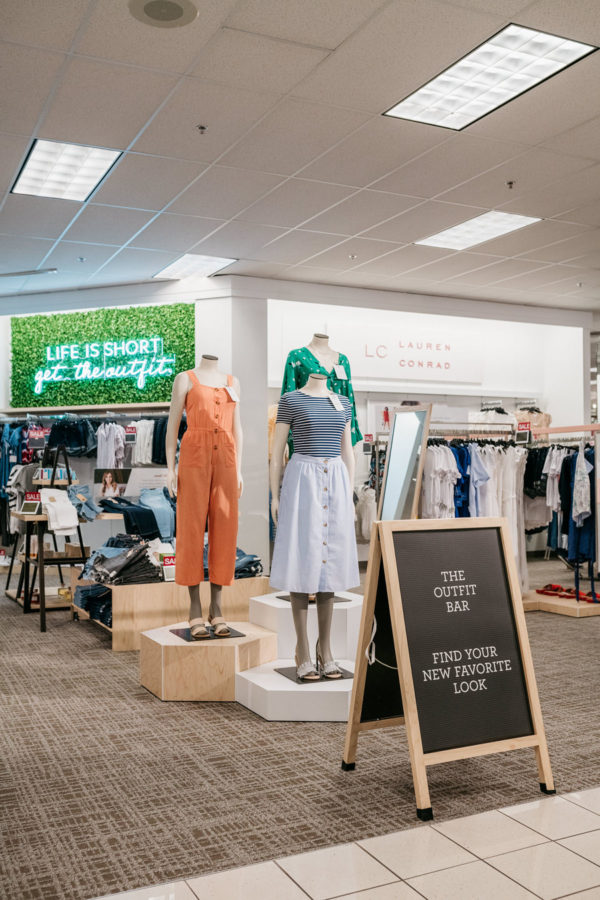 Kohl's Outfit Bar in Chicago