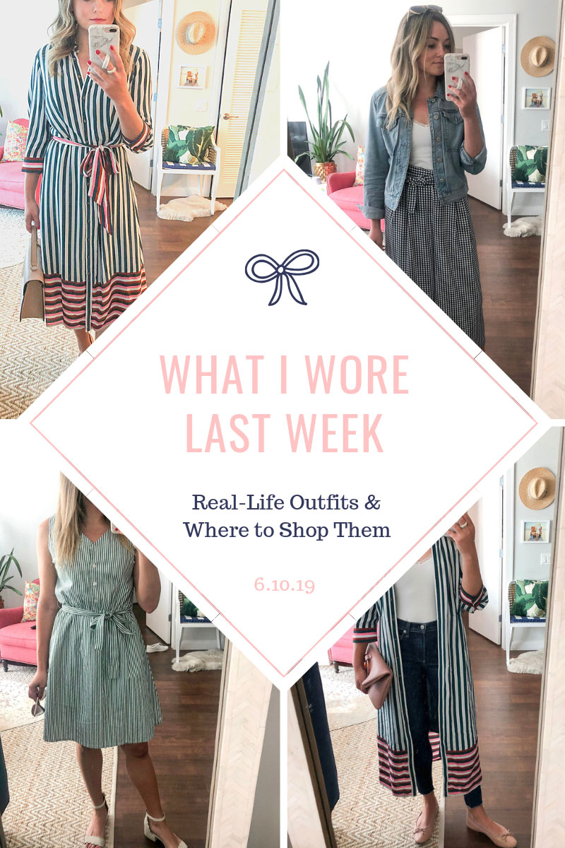 Chicago lifestyle blog Bows & Sequins posts mirror selfies of daily summer outfits in Chicago.