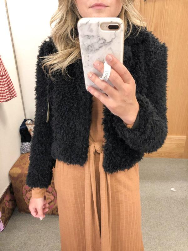 Blank NYC Teddy Coat