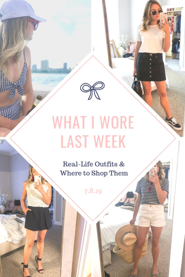 Chicago fashion blogger sharing daily outfit photos in July.