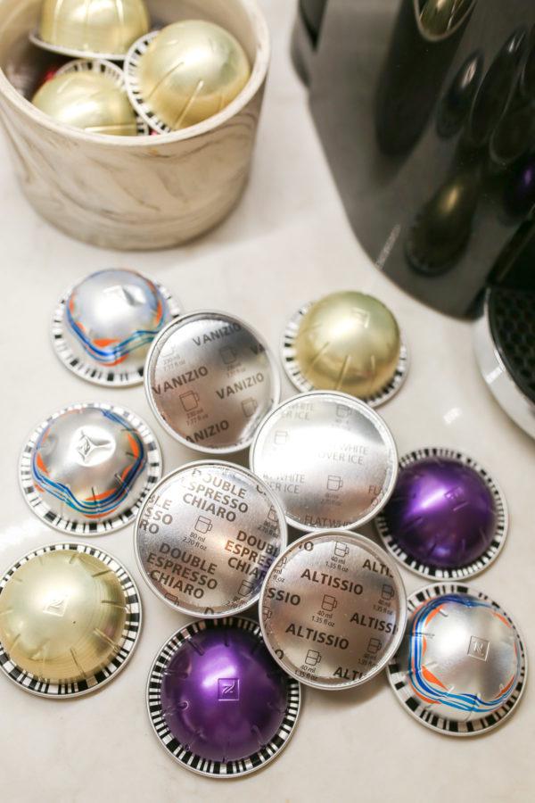 Blogger Bows & Sequins shares her favorite Nespresso pod flavors.