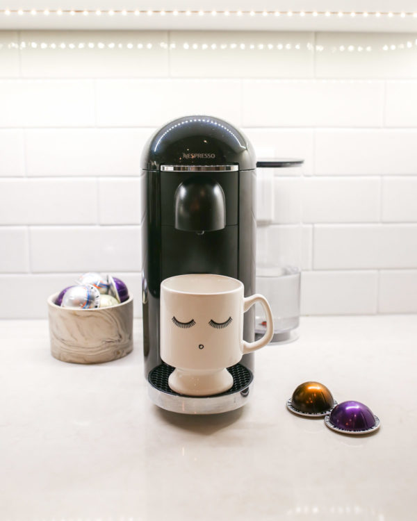 Lifestyle blogger Jessica Sturdy of Bows & Sequins reviews the Nespresso Vertuoline machine.