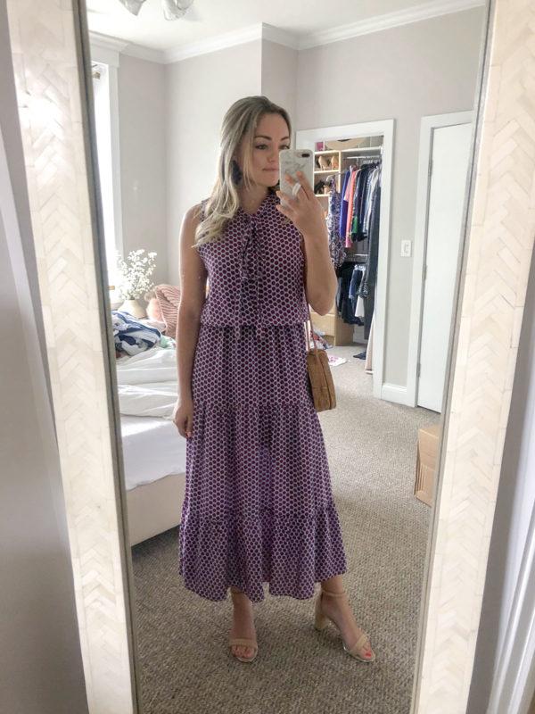 Alexis Tansy Polka Dot Maxi Dress