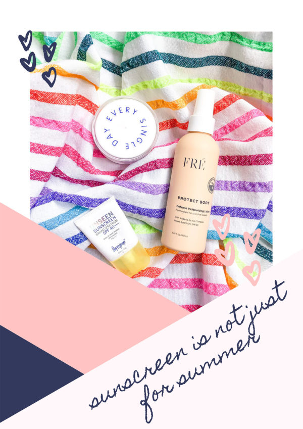 Beauty blogger Jessica Sturdy of Bows & Sequins shares her favorite sunscreens for year-round wear.