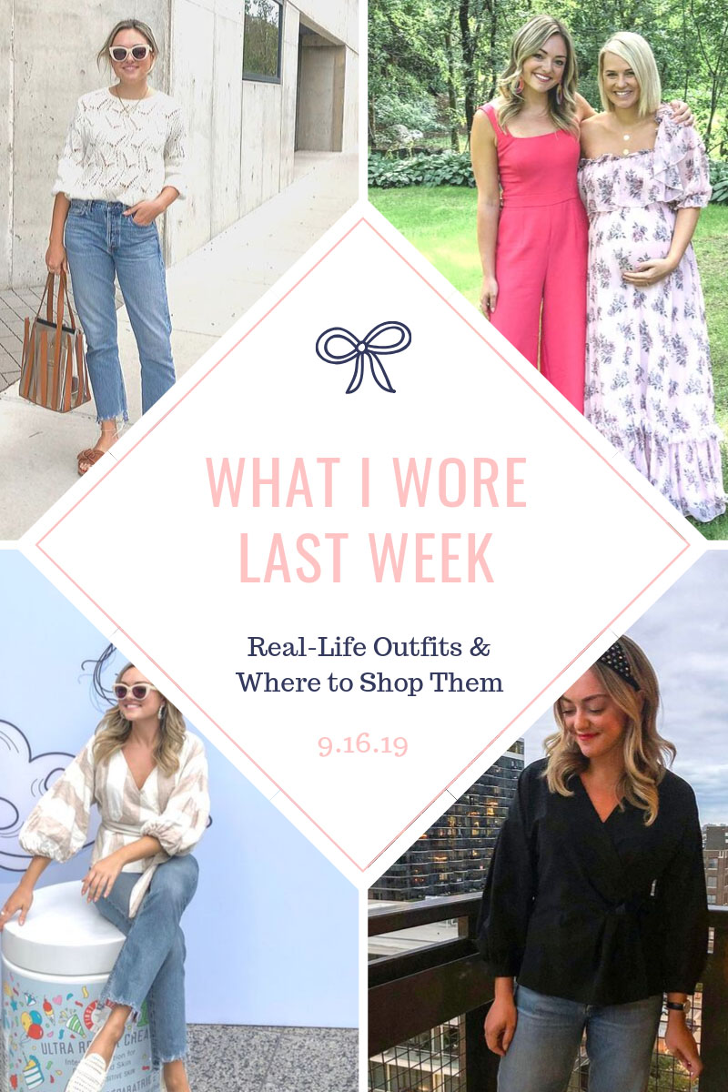 Chicago style blog Bows & Sequins shares a roundup of real outfits.