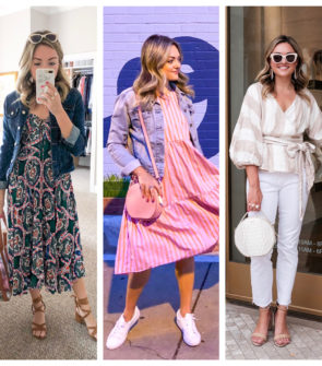 Chicago blogger posts daily outfits in Chicago in September in an Indian Summer