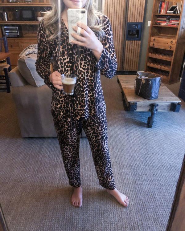 Soma Leopard Pajamas Set