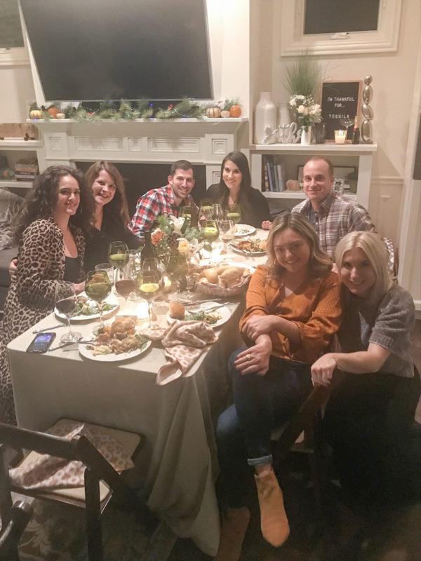 Bows & Sequins Friendsgiving 2019