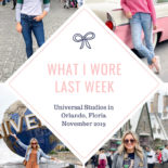 What I Wore Last Week: Universal Studios