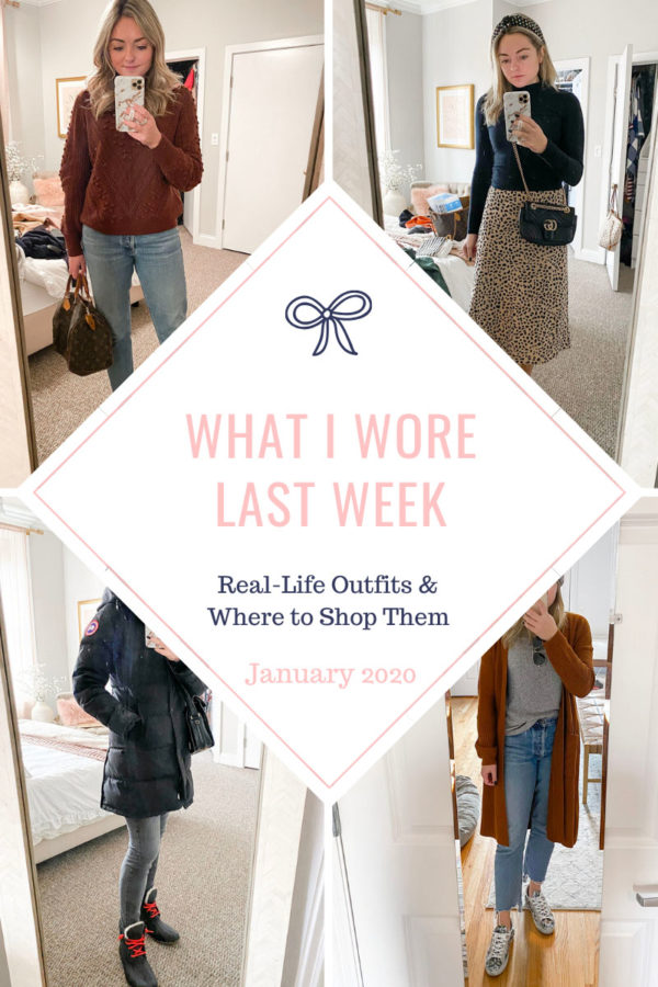 January Blogger Outfits in Chicago's Winter