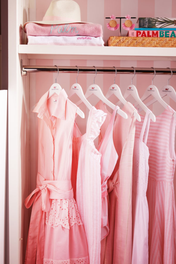 Vineyard Vines x Palm Beach Lately Pink and White Dresses