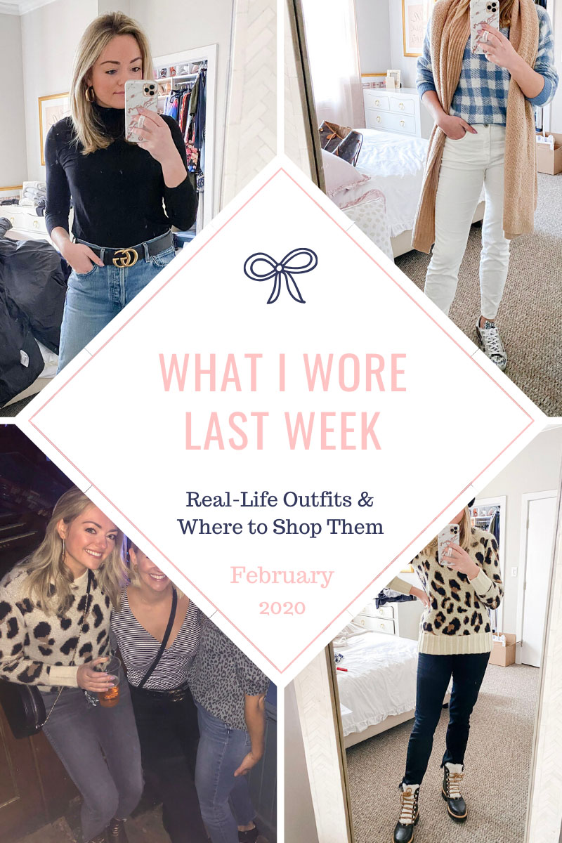 Everyday Outfits I Wore in February in Chicago
