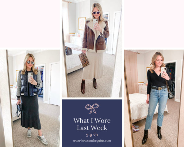 Chicago fashion blogger real life outfits from March.