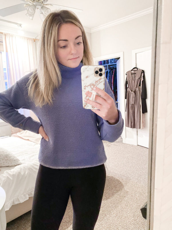 Calia Textured Pullover
