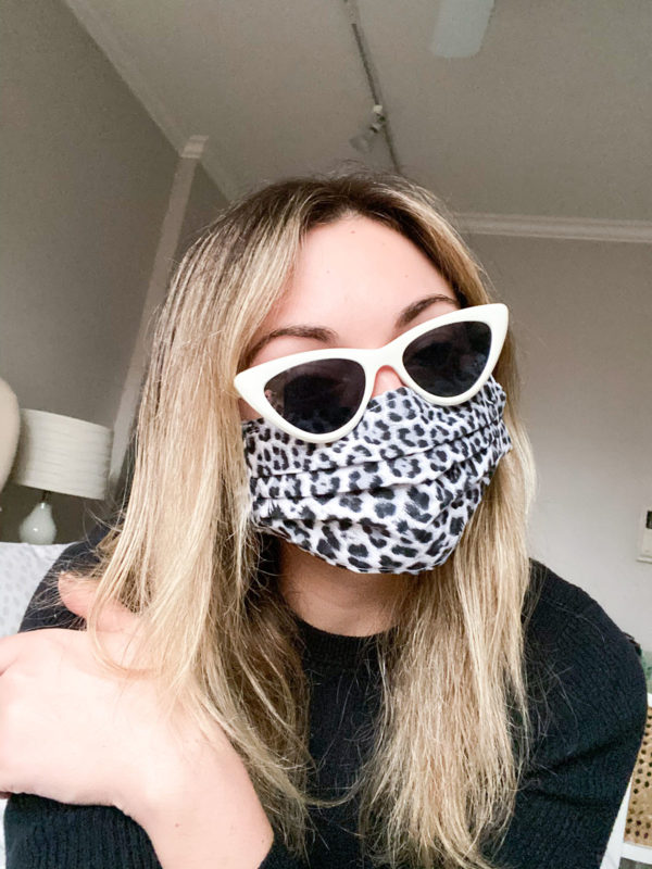 Adam Selman Le Specs White Cat Eye Sunglasses