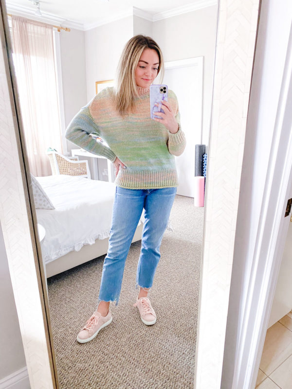 525 america space dye sweater