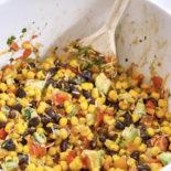 Fiesta Corn & Bean Dip