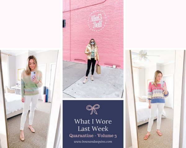 Blogger Outfits During Quarantine