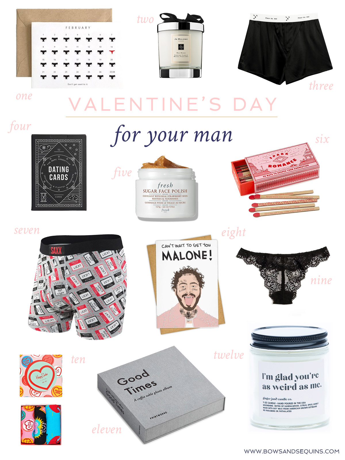 Valentine's Day Gifts for Him: Boyfriend and Husband