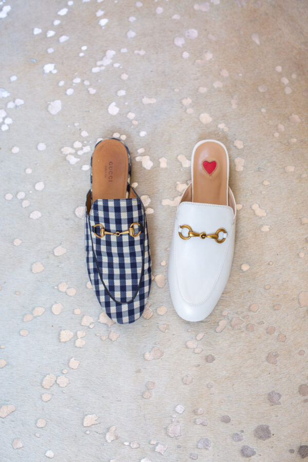 Authentic Gucci loafers with Amazon dupes comparison