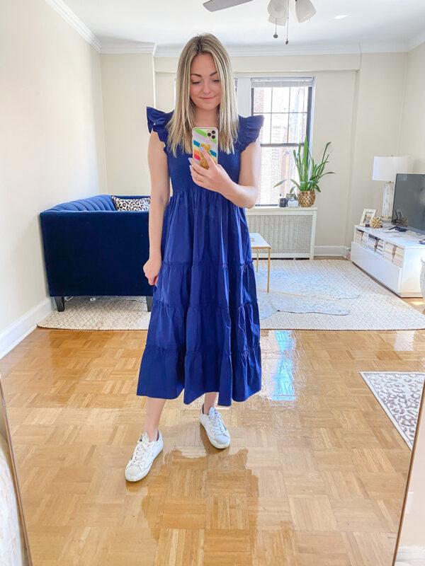 Navy Blue Ellie Nap Dress Review