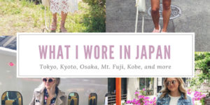 Every Outfit I Wore in Japan